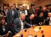 Vyhlášení výsledků voleb do Evropského parlamentu ...
