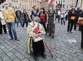 Demonstrace Milionu chvilek na Staroměstském náměs...