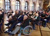 Slavnostní předání pamětních medailí Senátu parlam...