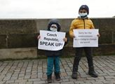 Protest proti Ázerbájdžánské agresi v Náhorním Kar...
