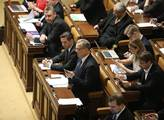 Volba předsedy poslanecké sněmovny. I přes protest...