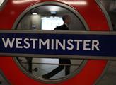 Londýnská stanice metra Westminster