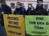 Demonstrace na podporu lidí i zvířat trpících kvůl...
