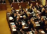 Hlasování ve sněmovnně