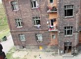 Romské ghetto nedaleko ostravského hlavního nádraž...