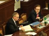 Zasedání poslanecké sněmovny mělo poklidný charakt...