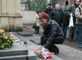 Poslankyně Marta Semelová přednesla vzpomínkovou ř...