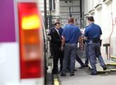 David Rath přijíždí do soudní budovy