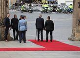 Slovenská prezidentka Zuzana Čaputová přijela na o...