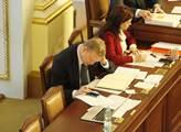Pavel Bělobrádek ve sněmovně