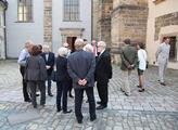 Mše v kostele Všech svatých k 75. výročí prohlášen...