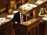 Premiér Bohuslav Sobotka hovoří