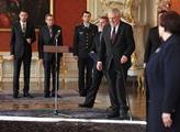 Přichází prezident republiky Miloš Zeman