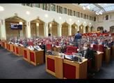 Zasedání zastupitelstva hlavního města Prahy. V rá...