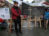 Připomínka prvního výročí událostí na Majdanu v Ky...