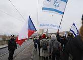 Veřejné shromáždění proti antisemitismu Všichni js...