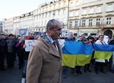 Na Václavském náměstí proběhl protest Za vaši i na...