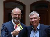 Ivan Langer představil svou novou knihu s názvem Š...