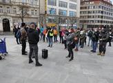 Demonstrace za ukončení policejního násilí. Vzhled...