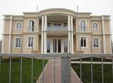 Budova budoucí palestinské ambasády v Praze
