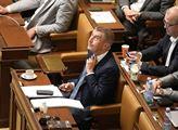 Schůze sněmovny s jediným bodem programu- Návrh na...