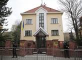 Budova velvyslanectví Ukrajiny v Praze
