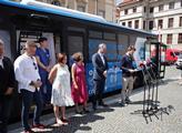 Představení očkovacího autobusu hlavního města Pra...