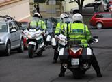 V eskortě byly také motocykly