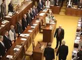 Projev prezidenta Miloše Zemana ve sněmovně. Podpo...