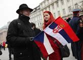 Na Václavském náměstí proběhla demonstrace proti u...