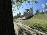 Dřevěná vyhlídka na Vítkově