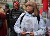 Uctění památky zavražděného odpůrce Putina Borise ...
