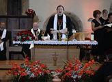 Bohoslužba u příležitosti 604. výročí upálení cír...