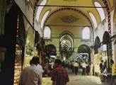 Na bazaru v Istambulu
