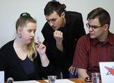 Tisková konference ke vzniku nové strany levého sp...