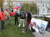Demonstrace podnikatelů a živnostníků proti vládě