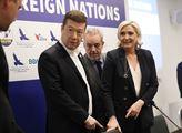 Tisková konference Evropy národů a svobody za účas...