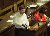 Tomio Okamura řeční ve sněmovně