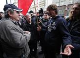 Dvacátétřetí výročí 17.11. v ulicích Prahy