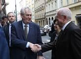 Prezident Miloš Zeman navštívil Slovenský dům kde ...