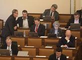 Zdeněk Ondráček v průběhu schůze poslanecké sněmov...
