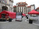 Na Mariánském náměstí Praha otevřela nové odběrové...