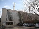 Centrální mešita v Kolíně nad Rýnem v turečtině zv...