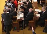 Hlasování o změnách v pořadu 44. schůze poslanecké...