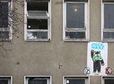 Exekutor chtěl vyklidit budovu v Jeseniově ulici v...