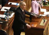 Zeman podpořil rozpočet