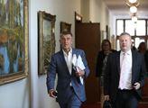 Premiér Andrej Babiš a místopředseda vlády Richard...