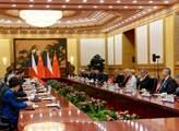 Prezident Miloš Zeman při zahraniční návštěvě ČLR