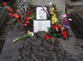 Hrob Jana Palacha na Olšanském hřbitově