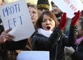 Protestní akce proti elektronické evidenci tržeb n...